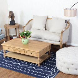El bastidor de madera maciza de 2 plazas tapizado Beige sofá de estilo francés