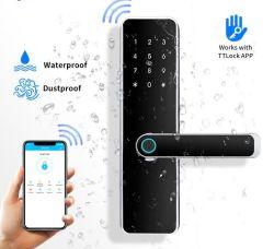 Водонепроницаемый электронные Bluetooth Ttlock APP считыватель отпечатков пальцев Пароль карты RFID