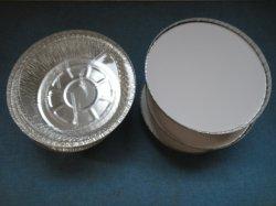 contenitore rotondo del di alluminio 7inch per il servizio del Canada