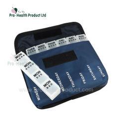 A pílula do dia semanal de médicos 7 caixa com saco de nylon