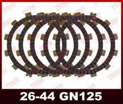 Motorrad-Teile Qualitäts-Motorrad-Kupplungs-Plattesuzuki-Gn125