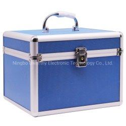 Venta caliente OEM Caja de almacenamiento de disco duro Estuche de aluminio con espuma