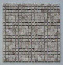 Mattonelle di mosaico Oro-Dentellare dell'ardesia della Cina P014 per il pavimento/pavimentazione o la parete