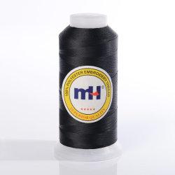 De grote Draad van het Borduurwerk van de Polyester van Kegels - Zwarte - de Polyester Hilo van 5000m