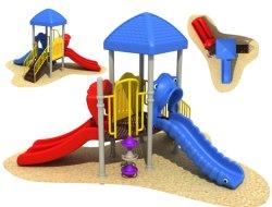 2021 Personalizar gran patio al aire libre niños Diapositiva de plástico