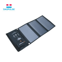 新しい太陽光発電バンク 21W 外部バッテリーソーラー充電器パワーバンク 携帯電話の場合