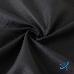 China PU de alta calidad de suministro de cuero artificial para hacer la tela y el sofá de tela bolso/poliéster