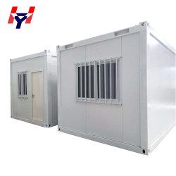 Низкая стоимость 20 футов модульное расширяемое современной сегменте панельного домостроения в сборные дома контейнера для жизни