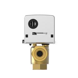 ファンコイルの1.6MPa低圧の単位によってモーターを備えられるゾーン弁