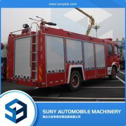 Dongfeng 2axles 6-7m3水および泡の消火活動車