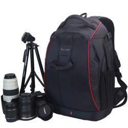 L'extérieur de l'épaule antivol étanche Double la randonnée pédestre Camping Travel Professional sac à dos de la caméra vidéo (CY9907)