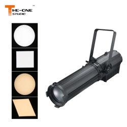Mais novo 300W LED Branco Quente Perfil Ellipsoidal Luzes de foco com zoom
