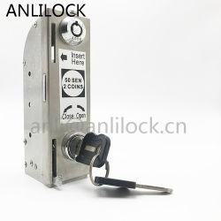 알루미늄 Tb 3000를 위한 고품질 최신 판매 스테인리스 동전에 의하여 운영하는 자물쇠