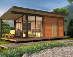 Modernes schönes vorfabriziertes Haus/modulares kundenspezifisches Landhaus-vorfabrizierthaus in China