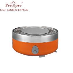 Il fumatore della griglia del BBQ progetta la cottura esterna di campeggio portatile del fornello del barbecue di DIY