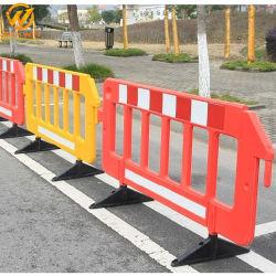 Le trafic en plastique Clôture Barrière, contrôle de la foule des clôtures pour la sécurité