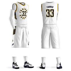 Uniforme della Jersey di pallacanestro sublimata ultima abitudine di disegno del commercio all'ingrosso