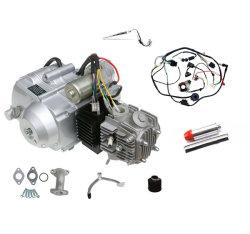 Kits de motor 125cc 4 tiempos refrigerado por aire Cableado del motor 3 Velocidad de retroceso de ATV Quad Go Kart