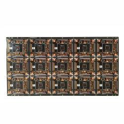 Carte de circuit imprimé multicouche de la carte mère en aluminium rigide avec une encre noire