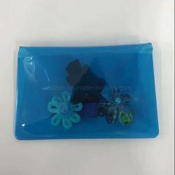 Houder van het Kenteken van identiteitskaart van de Student van de School van pvc van de Houder van de Kaart van de douane de Duidelijke Zachte Plastic Plastic