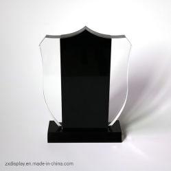 Acrylmedaillen-Ausstellungsstand-kundenspezifische Luxuxkristallpreis-Leerzeichen