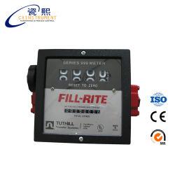 디젤 연료 중량인 40 ~ 110L/Min 측정 범위 1'' 인치 나사산 연결 및 저압 드롭 연료 유량계