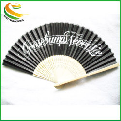 Personalisierte Logos Auf Ribs Party Giffs Wedding Craft Seide oder Papier Hand Fan