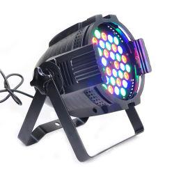 إضاءة المرحلة ضوء LED كامل الألوان 3in1 54PCS 3 واط ضوء تكافؤ