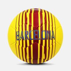 Heldere Gekleurde Grootte 5 van pvc de Ballen van het Voetbal van de Recreatie