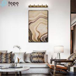 Canapé moderne Contexte Wall Hanging peinture sur verre de gros (MR-YB6-2024)