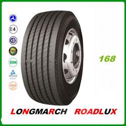 Roadlux/ Marca Longmarch Pneus de Caminhão 11R22.5 12R22.5 13R22.5 425/65R22.5 445/65R22.5 LM168