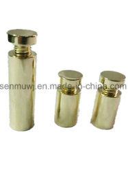 O pino tarugo de aço inoxidável de publicidade, fixação em parede/mesa de Vidro Parafuso de Fixação Standoff, peças usinadas de precisão CNC SS316/SS304