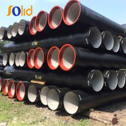 Ein Leading Manufacturers von C25, C30, C40 K9 Ductile Iron Pipe in China
