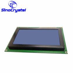 240x128 Figura 6 horas da lâmpada de ângulo de visualização RA6963 negativo da IC do Driver do módulo LCD Monocromático transmissivo