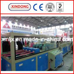 La producción de tubería de PVC extrusionadora de husillo doble línea de extrusión de plástico de la máquina