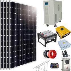 1kw 2kw 5 kw 10kw 50kw sur grille panneau solaire hors réseau Kit PV générateur de puissance