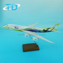 Avion du passager le modèle B747-8 jouet avion en résine