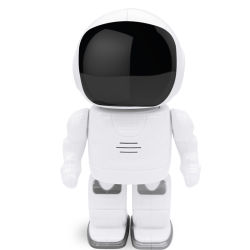 IP van de Robot van het Beeldverhaal van kabeltelevisie IRL WiFi 960p HD van het Toezicht van het huis BinnenP2p Camera