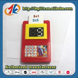 카드를 가진 교육 가르치는 플라스틱 계산기 장난감을 배우는 수학
