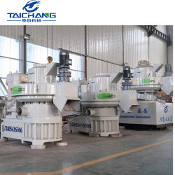 Houten Korrels die van de Matrijs van de Ring van de Biomassa 1-3.5t/H van China de Volledige Machine maken