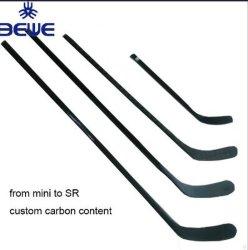 La alta calidad Junior/Senior/Int Blade PRO P19/P3/P88/P92/MP9/P02/P91/Jnp19 Stick de hockey sobre hielo de fibra de carbono