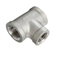 オイルのための鉄/ステンレス鋼のティーの管付属品