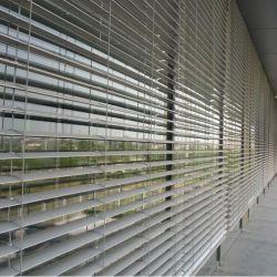 Zwischenwand-Systemaluminiumsun-Farbton-Fenster-Luftschlitz