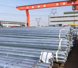 Tubo elettrico d'acciaio del condotto dei collegamenti galvanizzato 20mm/25mm/32mm di standard di BS/IEC per resistente al fuoco usato