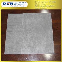 5mm/0,45 mm PE Le revêtement composite en aluminium pour les partitions de la plaque