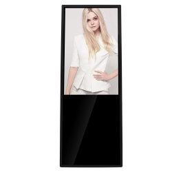 43 인치 휴대용 디지털 매체 포스터를 광고하는 실내 서 있는 디지털 게시판