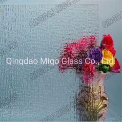 Gerolltes Gemustertes Glas/Klares Glas/Möbelglas/Mosaik Aus Glas