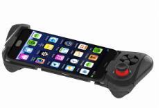 Hete Mocute 058 het Draadloze Gokken Gamepad van het Controlemechanisme van Vr van de Bedieningshendel van de Tand van het Stootkussen van het Spel Blauwe Androïde Telescopische voor Ios Pubg Mobiele Joypad