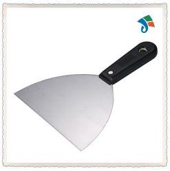 Kohlenstoffstahl-Handwerkzeug-Kitt-Messer mit TPR Griff