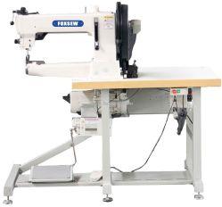 El brazo del cilindro de servicio severo de pie a pie de máquina de coser la tapicería de cuero y Webbings